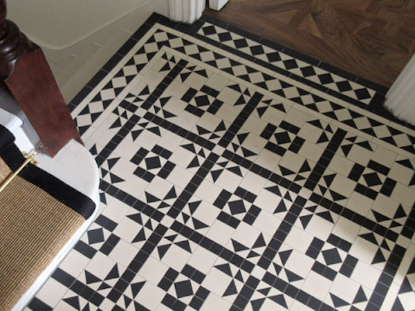 Residential tiling in West London